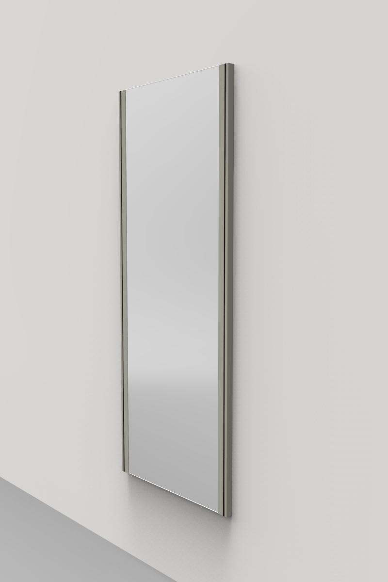 Lune design specchio a parete 39 amore 39 in dupont corian - Parete a specchio ...